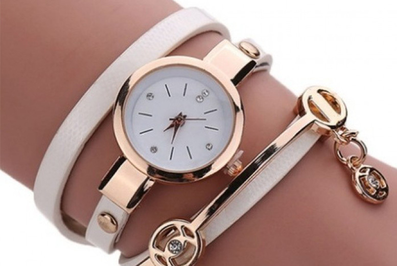 Anna Snake Strap Watch – 5 Colours! for £5.99
