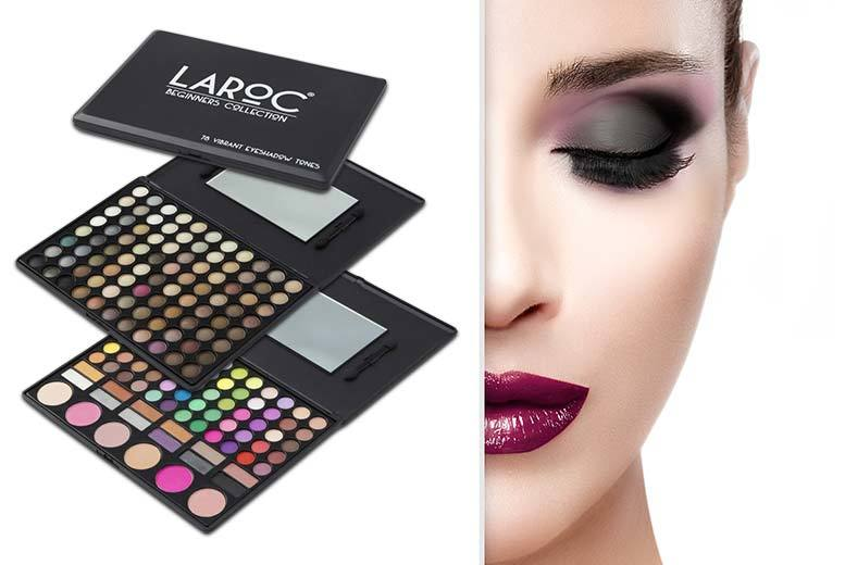 78pc or 88pc Deluxe Eyeshadow Palette from £4.99