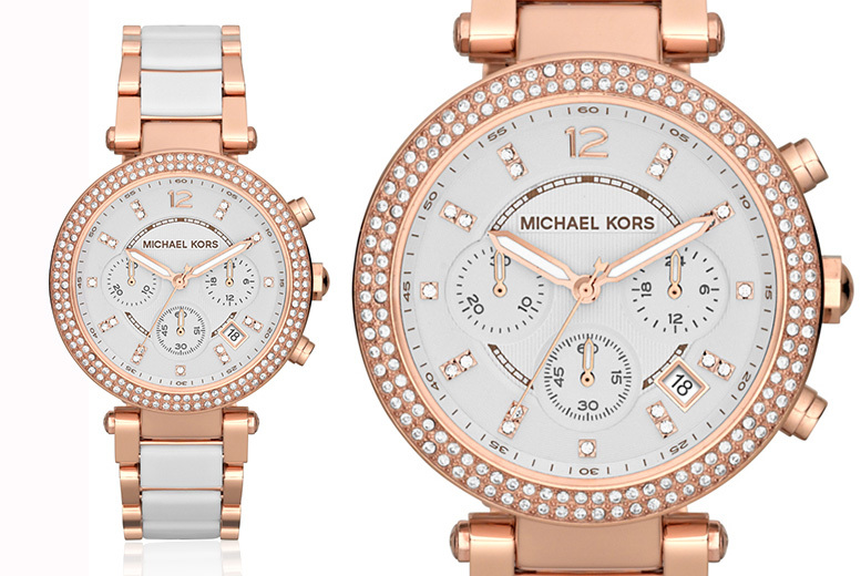 Michael Kors MK5774 Ladies' Two-Tone Watch