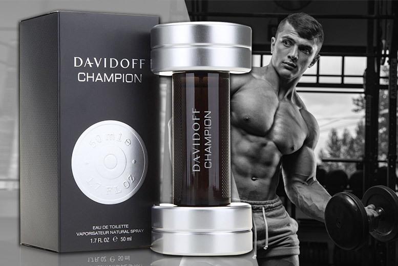Davidoff Champion Eau De Toilette 50ml for £17.99