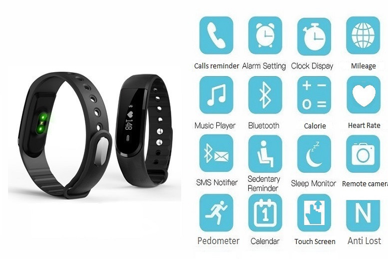 19-in-1 Smart Bluetooth Activity Bracelet for £19.99