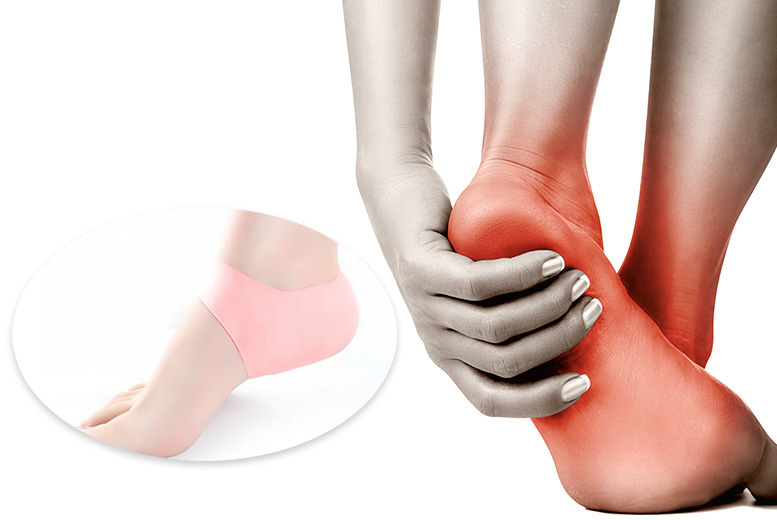 Silicone Gel Heel & Ankle Sleeves from £1.00