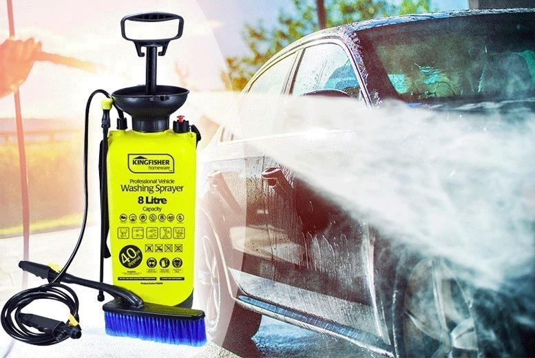 8L High Pressure Sprayer & Washer for £14.00