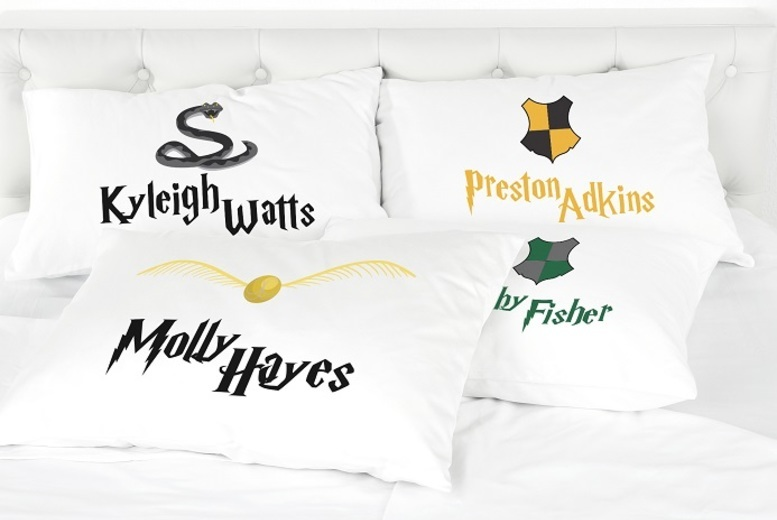 Personalised Kids' Harry Potter-Inspired Pillowcase for £3.99
