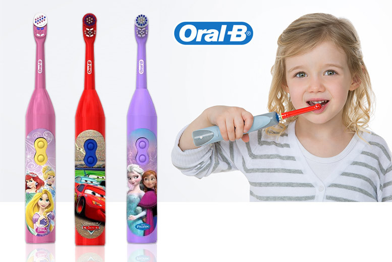 Disney Themed Kids' Oral B Toothbrush – 3 Designs! for £4.99