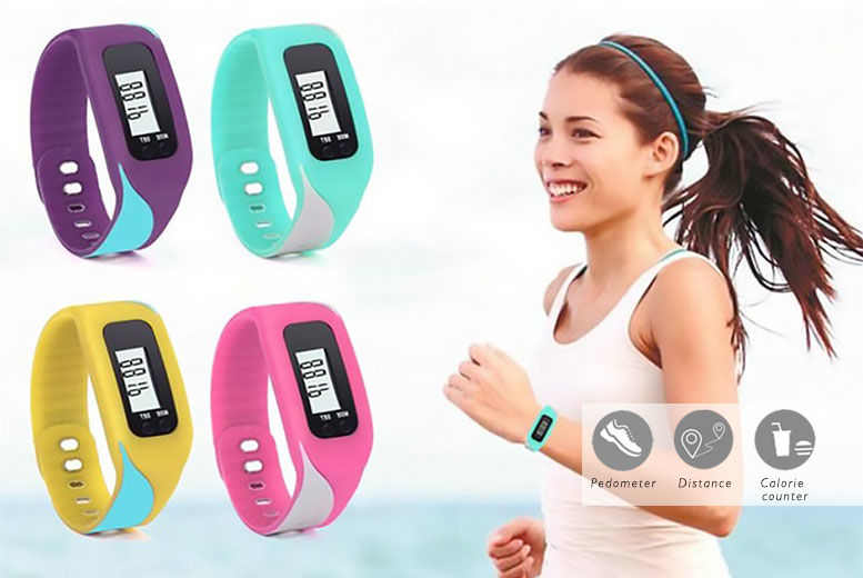 V Fit 4 in 1 Fitness Tracker – 4 Colours! for £8.99