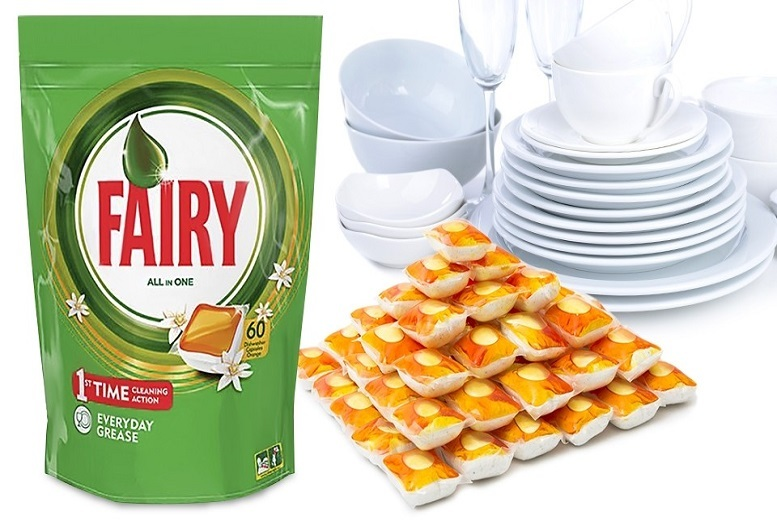 Fairy All-In-1 Dishwasher Tablets – 4 Sizes! from £8.99