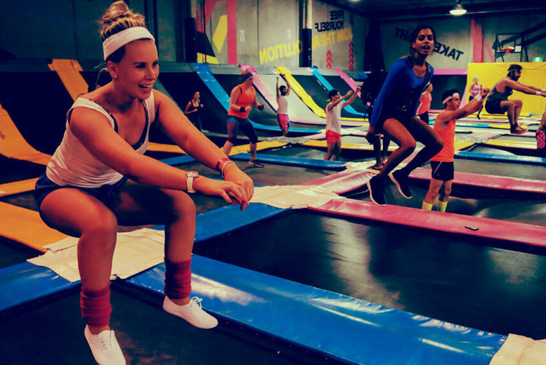 £5 instead of £11.95 for one hour of indoor trampolining at Bounce Revolution, Derby - save 58%
