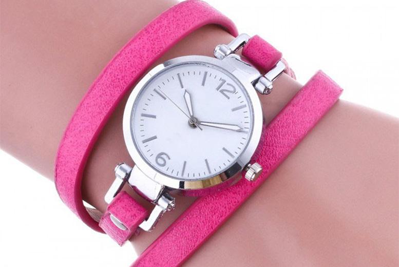 Ladies' 'Edith' Wrap Watch - 6 Colours!