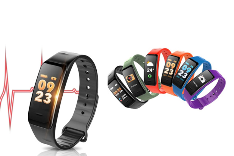 20in1 Vitality X7 Fitness Tracker w/ Music Control  6 Colours!
