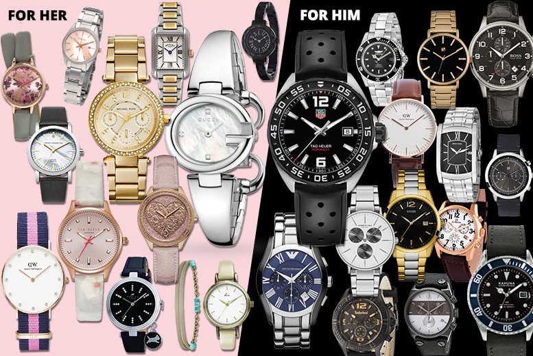 Mystery Watch Deal - Tag Heuer, Gucci, Radley, MK, Kahuna & More!