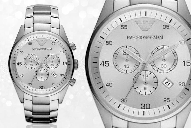 Unisex Emporio Armani AR5869 Stainless Steel Watch