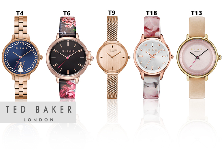 Ted Baker Ladies Watches - 18 Designs!