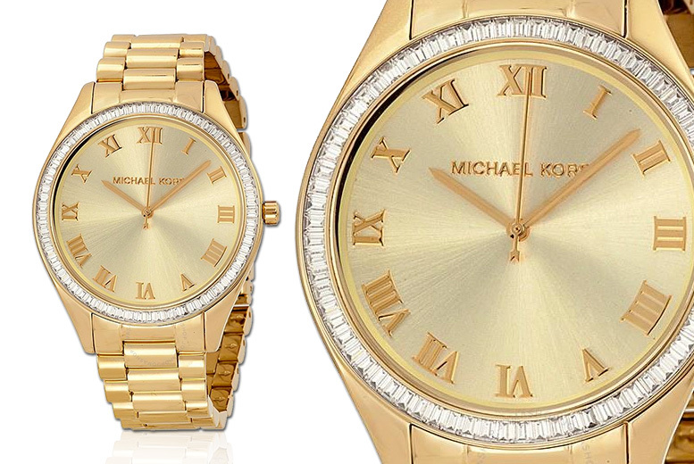 Michael Kors MK3244 Blake Champagne Watch