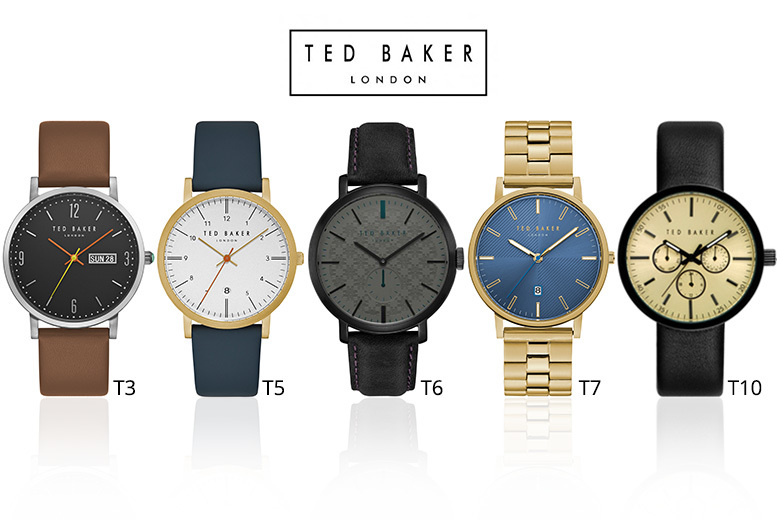 Ted Baker Men's Watches in 10 Designs - Perfect For Father's Day!