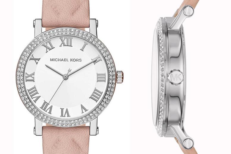 Ladies Michael Kors MK2617 White Sunray Watch