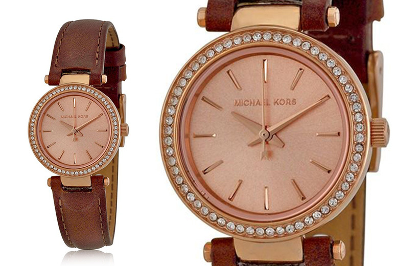 Michael Kors Darci MK2553 Leather Watch