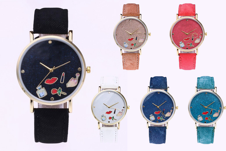 Quirky Fashion Watch - 6 Colours!