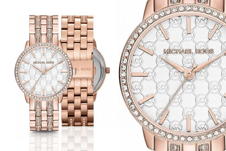 Michael Kors MK3237 Rose Gold-Tone Watch