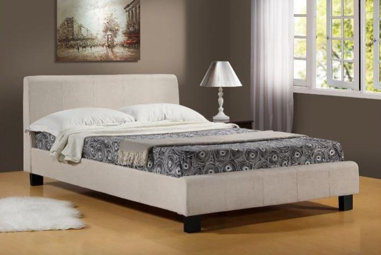 Hamburg Fabric Bed Frame - 3 Sizes!