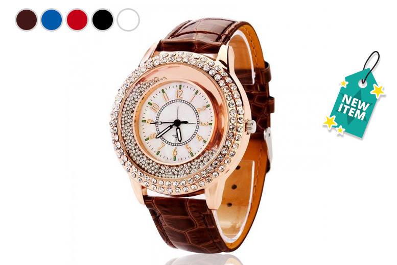 Rose Gold 'Quicksand' Watch - 5 Designs!