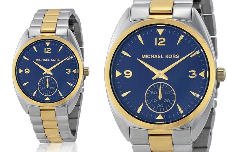 Michael Kors Callie MK3343 Blue Dial Unisex Watch