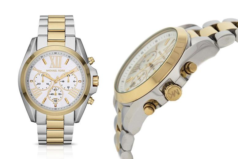 Michael Kors MK5627 Bradshaw Ladies Silver & Gold Watch