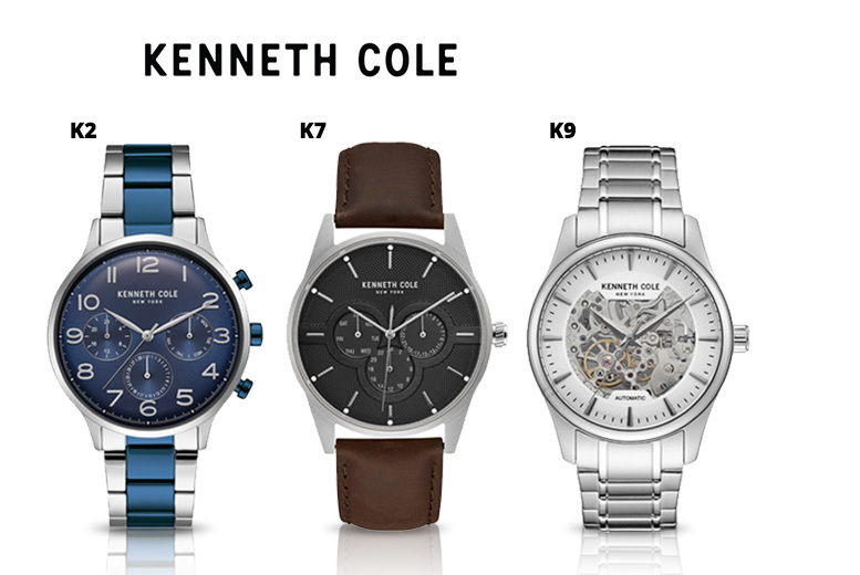 Men's Kenneth Cole Luxury Watch - 10 Designs!