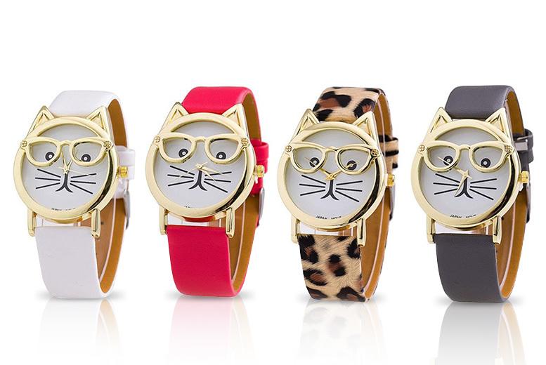 'Cat Geek' Watch - 4 Designs!