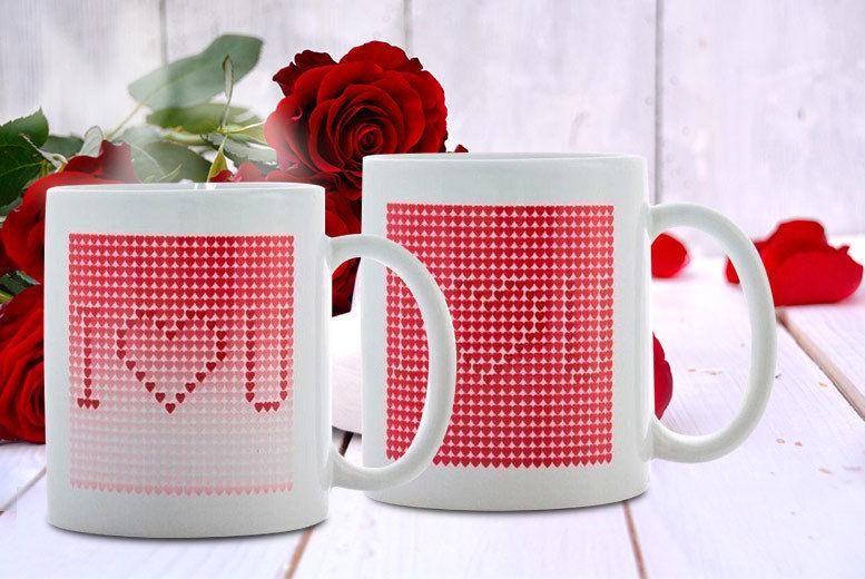 'I love you' Magic Mug
