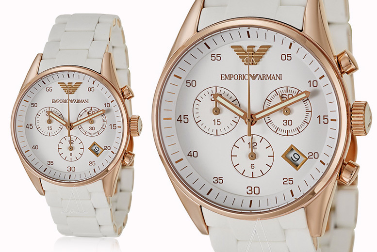 Ladies' Emporio Armani AR5920 Sportivo Watch