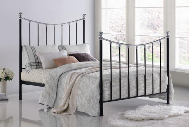 Vienna Metal Bed Frame - Double or King Size!