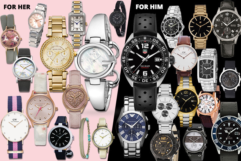 Mystery Watch Deal - Tag Heuer, Gucci, Hugo Boss, MK & More!