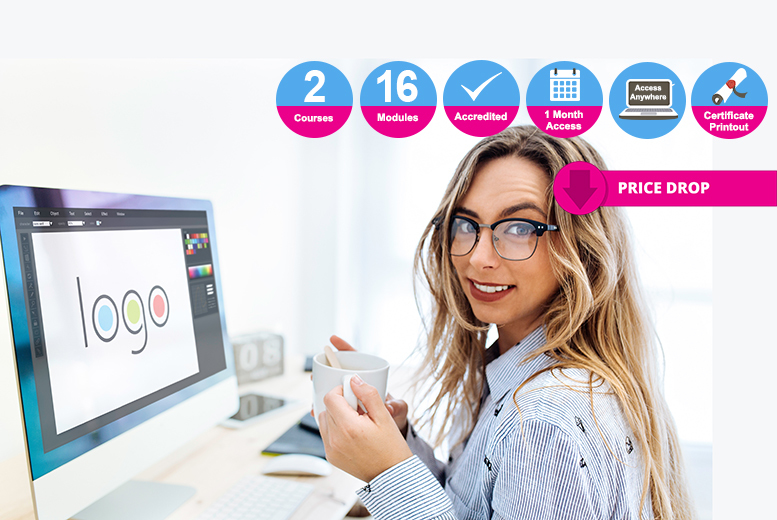 Web & Graphic Design Bundle - 2 Accredited Courses!