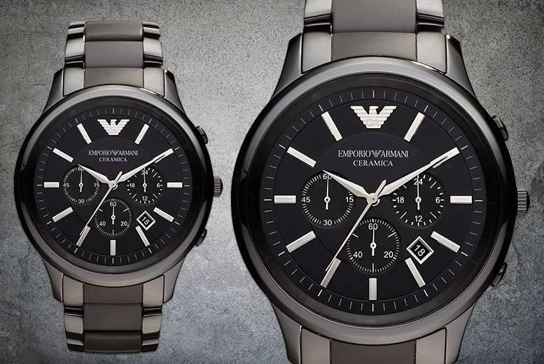 Men's AR1451 Ceramic Armani Watch