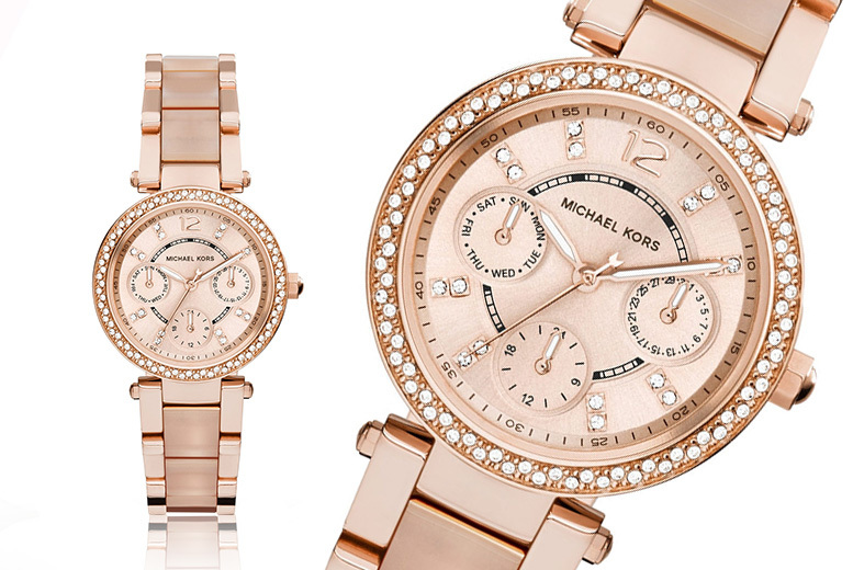 Ladies' Michael Kors Rose Parker Watch