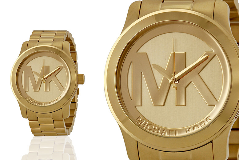 Ladies Michael Kors MK5473 Runway Gold Watch