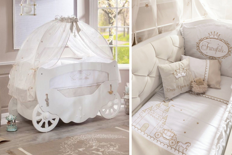 Baby's Fairytale Cot Bed