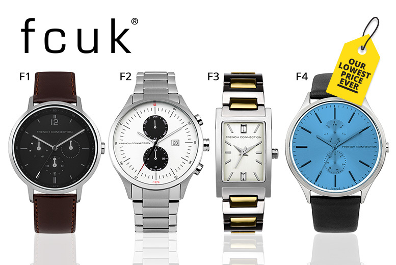 FCUK Watches - 19 Designs!