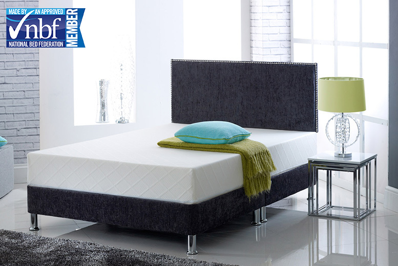 DreamSleep HD Memory Foam Mattress - 5 Sizes & 2 Options!