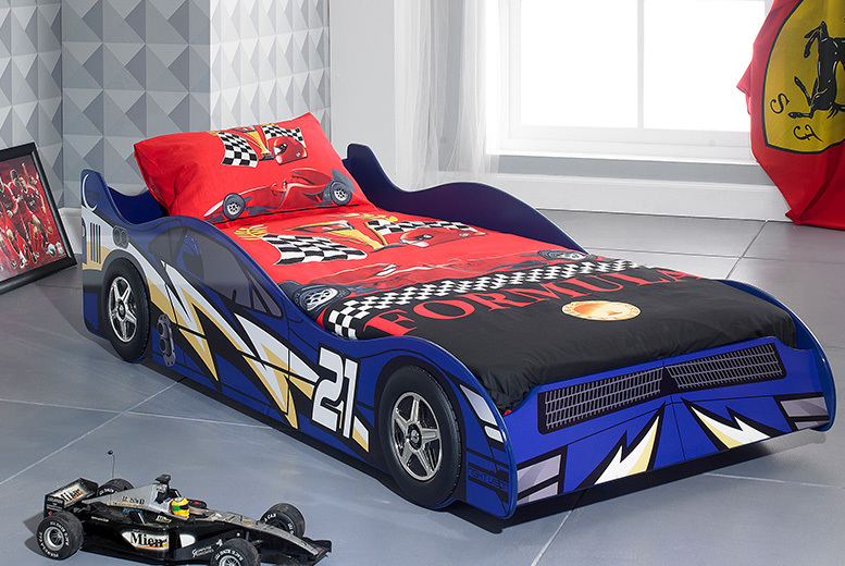 Kids Supercar Lightning Racer Bed – 2 Colours!