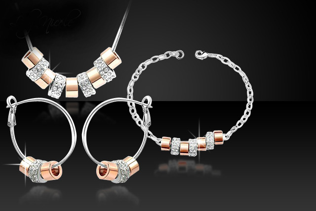 £19 instead of £129.95 (from Simply 18k) for a Swarovski Elements tri set - save a sparkly 85%