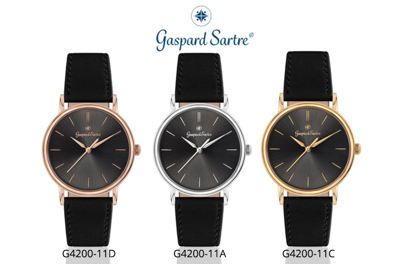 Gaspard Sartre 'L'Imposante' Men's Watch - 5 Designs!