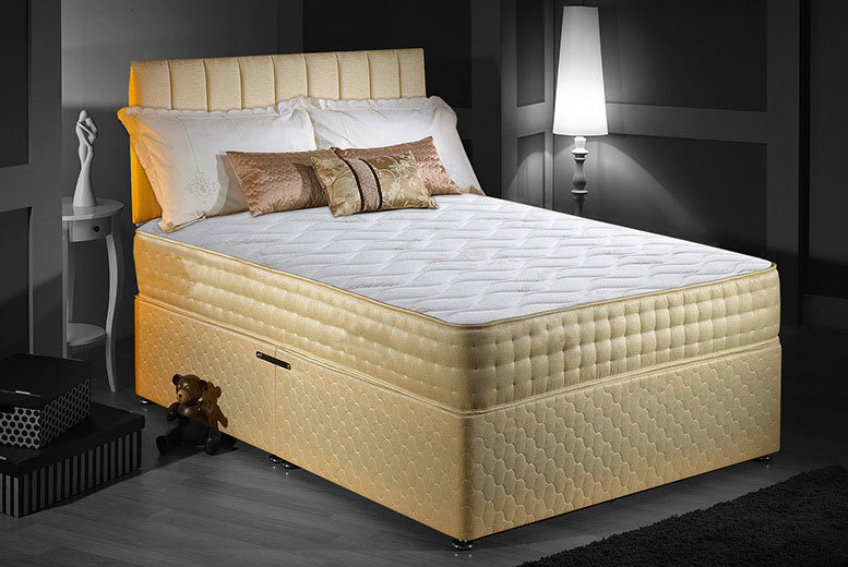 Luxury Memory Foam Gold-Threaded Bio-Natural Mattress