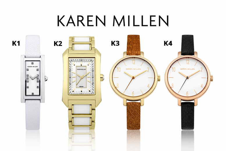 Ladies Karen Millen Watch - 20 Designs!