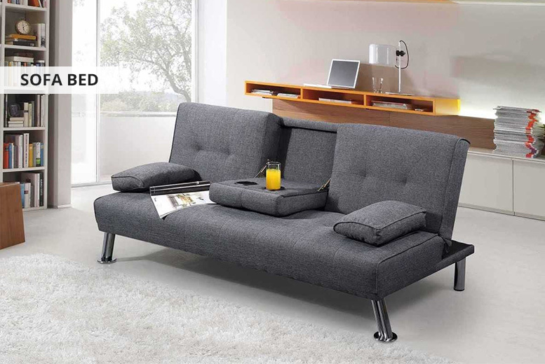 New York Sofa Bed and Chaise Longue