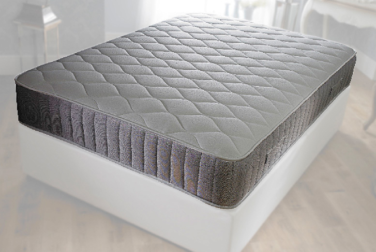 Diamond Quilted Bonnell Memory & Spring Mattress from £49