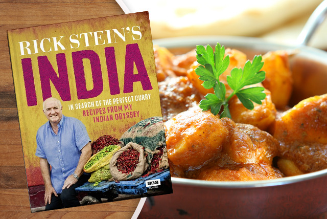 £14 instead of £20 (from Random House) for a hardback copy of Rick Stein's India cookbook – cook like a professional chef & save 30%