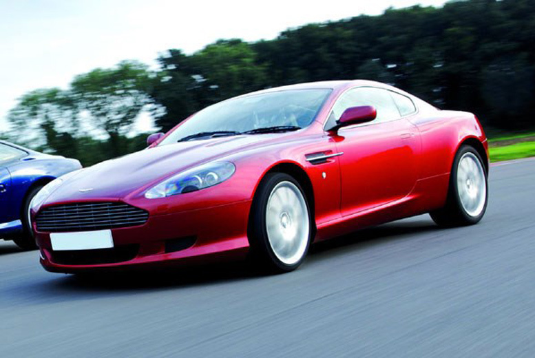 £39 for an Aston Martin DB9 or V8 Vantage supercar driving blast experience at a choice of over 15 locations from Buyagift!