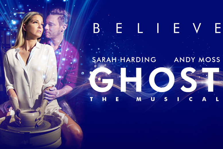 £20 instead of £40.40 for a Band A ticket to see Ghost, The Musical at New Wimbledon Theatre - save 50%